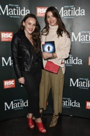 Brooke Vincent and Elle Leech at Matilda Press Night in Manchester 2018/09/20 7