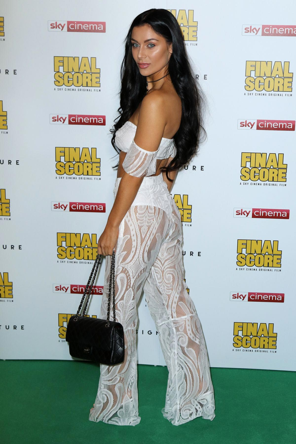 Cally Jane Beech at Final Score Premiere in London 2018/08/30 1