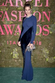 Cameron Russell at Green Carpet Fashion Awards in Milan 2018/09/23 1