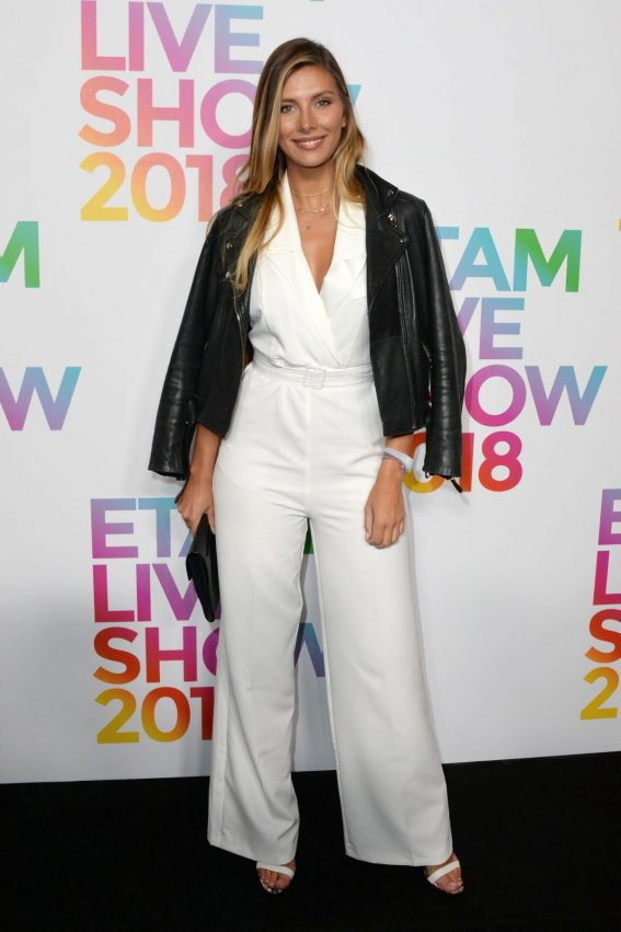 Camille Cerf at Etam Show at Paris Fashion Week 2018/09/24 1