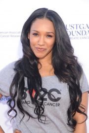 Candice Patton at Stand Up to Cancer Live in Los Angeles 2018/09/07 2