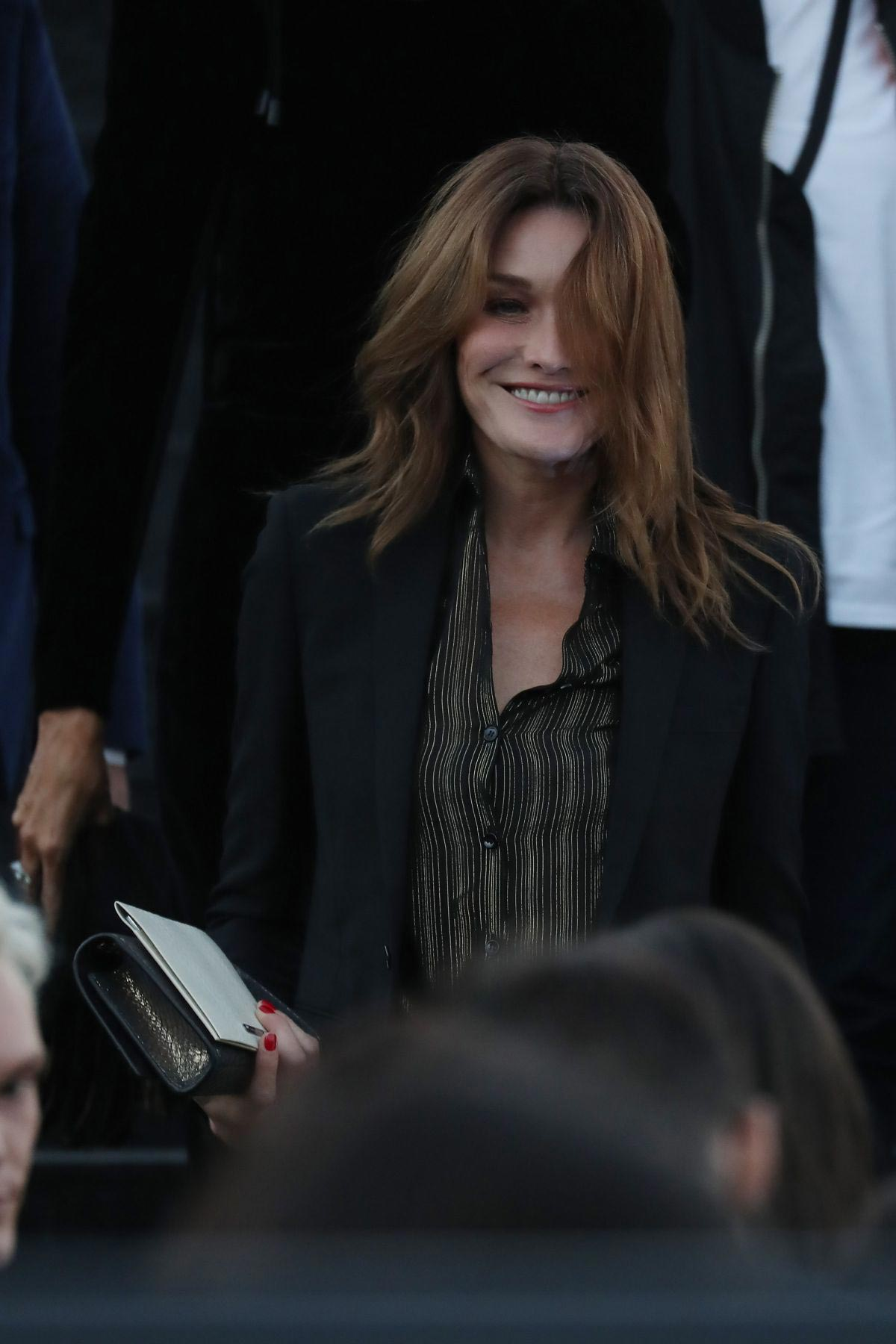 Carla Bruni at Saint Laurent Show at Paris Fashion Week 2018/09/25 1