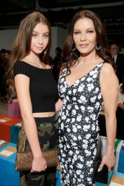 Catherine Zeta-Jones and CARYS ZETA DOUGLAS at Michael Kors Fashion Show in New York 2018/09/12 9