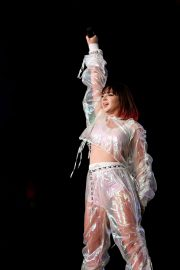 Charli XCX Performs at Taylor Swift's Reputation Stadium Tour in Houston 2018/09/29 1