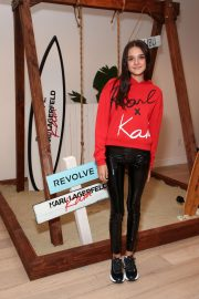 Charlotte Lawrence at Karl Lagerfeld x Revolve Launch in Los Angeles 2018/08/30 2