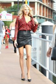 Charlotte McKinney Arrives to at Alice + Olivia Show at New York Fashion Week 2018/09/11 5