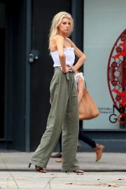 Charlotte McKinney on the Set of a Photoshoot in New York 2018/09/13 7