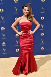 Chrishell Stause at Emmy Awards 2018 in Los Angeles 2018/09/17 4