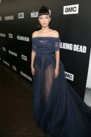 Christian Serratos at The Walking Dead Premiere Party in Los Angeles 2018/09/27 1