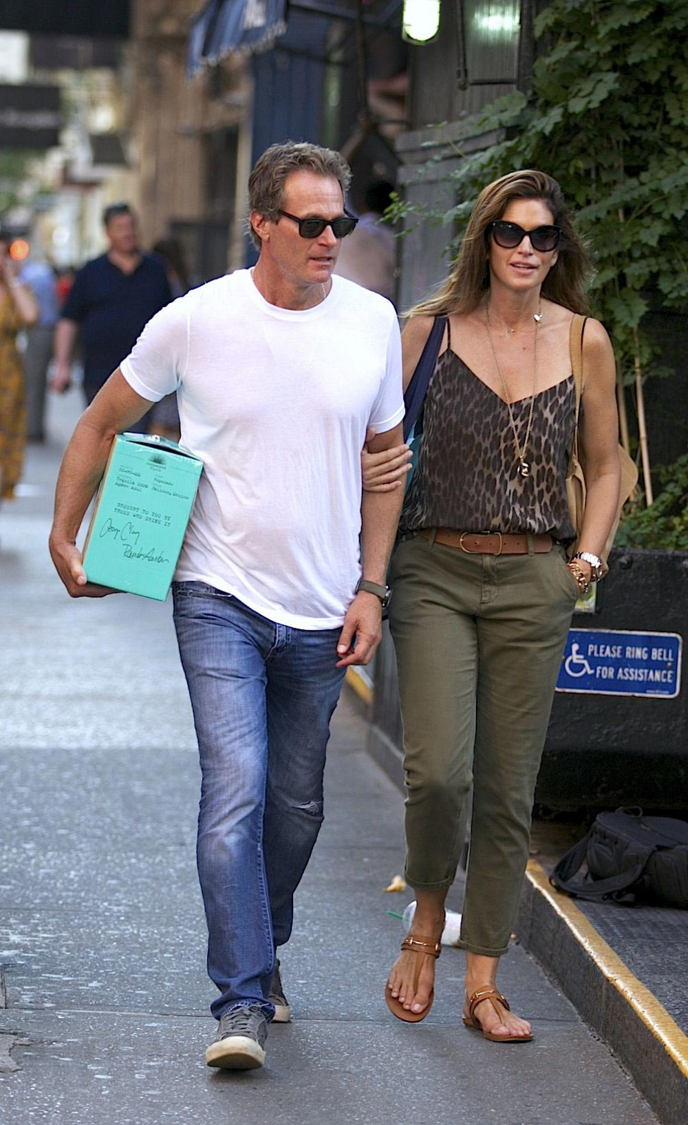 Cindy Crawford and Rande Gerber Out in New York 2018/09/03 1