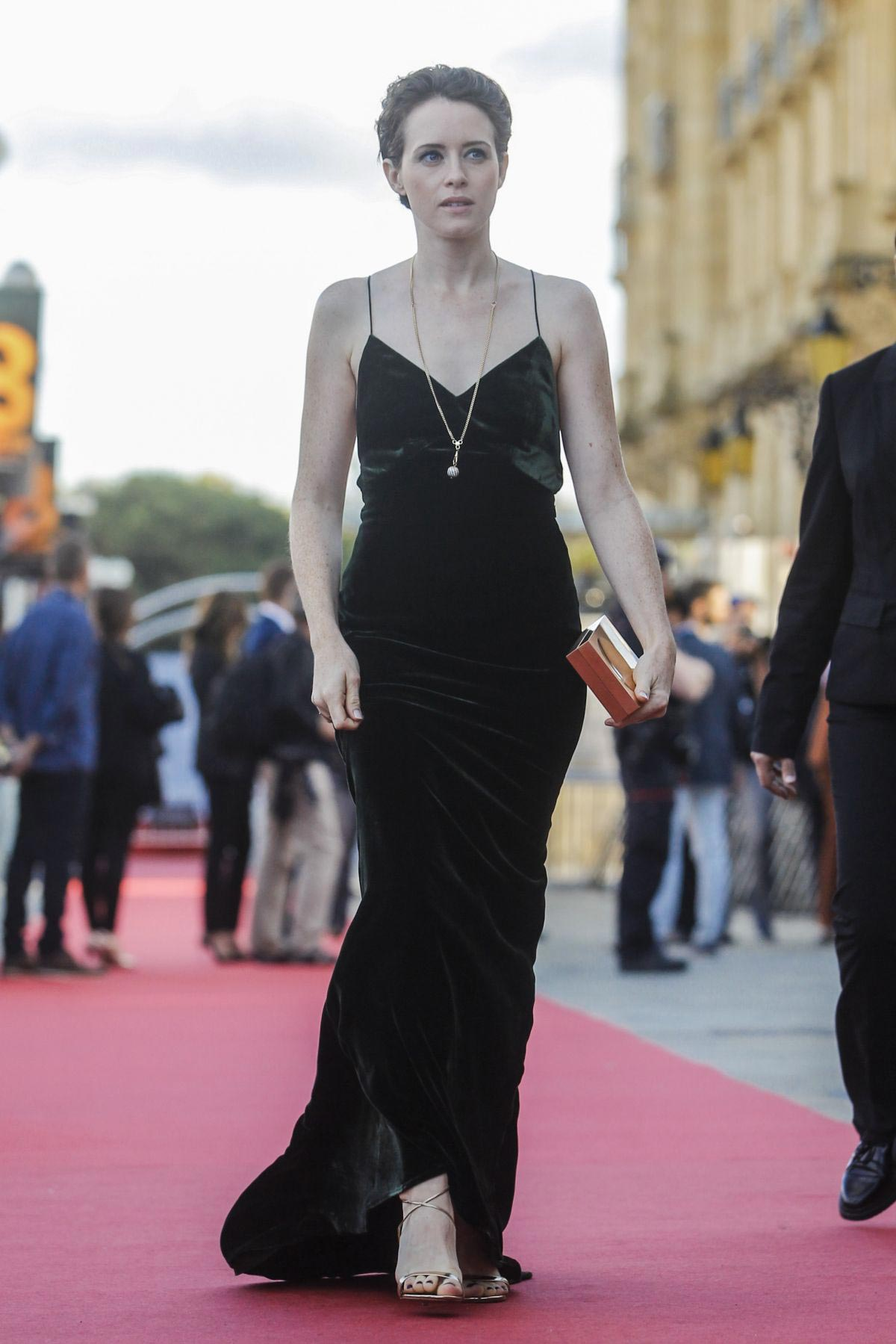 Claire Foy at First Man Premiere at San Sebastian Film Festival 2018/09/24 1