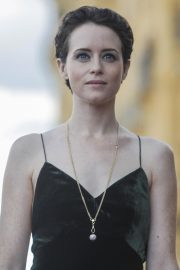 Claire Foy at First Man Premiere at San Sebastian Film Festival 2018/09/24 2