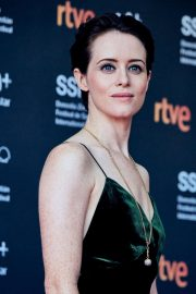 Claire Foy at First Man Premiere at San Sebastian Film Festival 2018/09/24 7