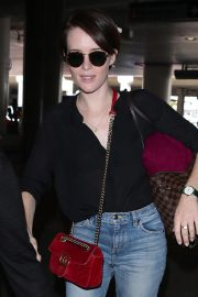Claire Foy at Los Angeles International Airport 2018/09/19 3