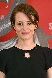 Claire Foy at The Girl in the Spider's Web Photocall in Los Angeles 2018/09/18 1