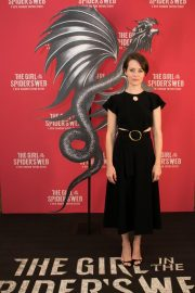 Claire Foy at The Girl in the Spider's Web Photocall in Los Angeles 2018/09/18 2
