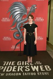 Claire Foy at The Girl in the Spider's Web Photocall in Los Angeles 2018/09/18 3