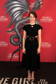 Claire Foy at The Girl in the Spider's Web Photocall in Los Angeles 2018/09/18 6