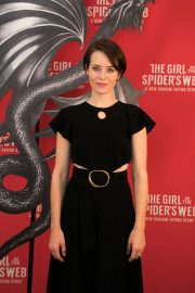 Claire Foy at The Girl in the Spider's Web Photocall in Los Angeles 2018/09/18 7