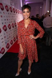Cush Jumbo at Stage Debut Awards 2018 Arrivals in London 2018/09/23 1