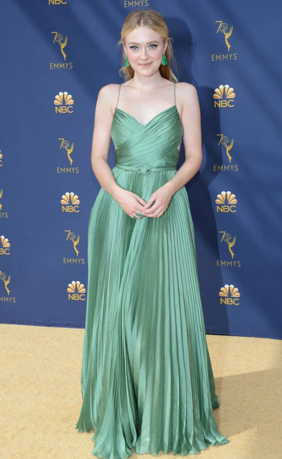 Dakota Fanning at Emmy Awards 2018 in Los Angeles 2018/09/17 1