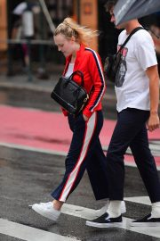 Dakota Fanning Out and About in New York 2018/09/12 2