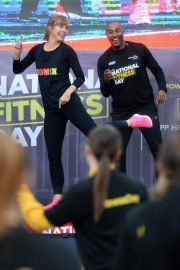 Darcey Bussell Workout on National Fitness Day in London 2018/09/26 2