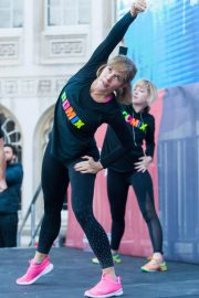 Darcey Bussell Workout on National Fitness Day in London 2018/09/26 6