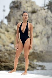 Draya Michele in Swimsuit at a Boat in Newport Beach 2018/09/06 19