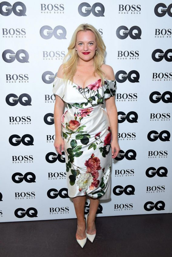Elisabeth Moss at GQ Men of the Year 2018 Awards in London 2018/09/05 1
