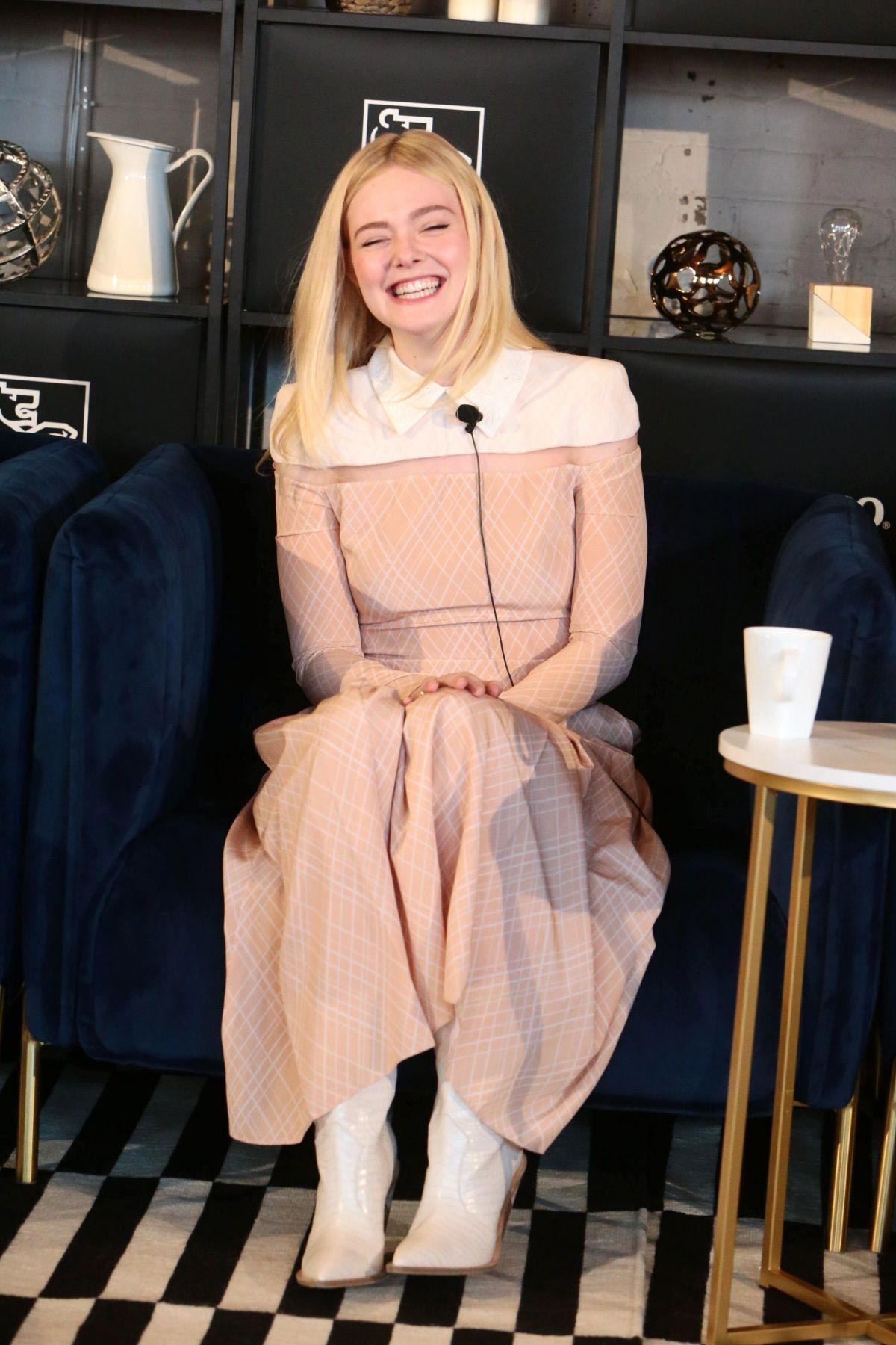 Elle Fanning at Coffee with Creators at TIFF in Toronto 2018/09/08 1