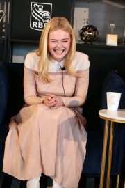 Elle Fanning at Coffee with Creators at TIFF in Toronto 2018/09/08 2