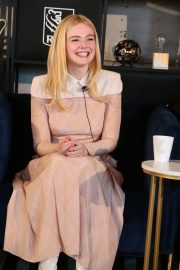 Elle Fanning at Coffee with Creators at TIFF in Toronto 2018/09/08 6