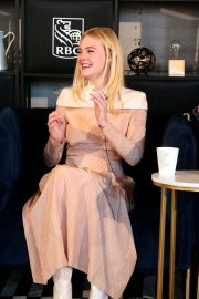 Elle Fanning at Coffee with Creators at TIFF in Toronto 2018/09/08 7