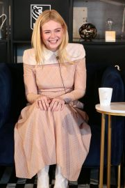 Elle Fanning at Coffee with Creators at TIFF in Toronto 2018/09/08 8
