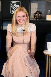 Elle Fanning at Coffee with Creators at TIFF in Toronto 2018/09/08 9