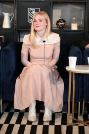 Elle Fanning at Coffee with Creators at TIFF in Toronto 2018/09/08 10
