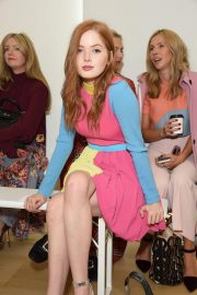 Ellie Bamber at Emilia Wickstead Show at London Fashion Week 2018/09/17 4
