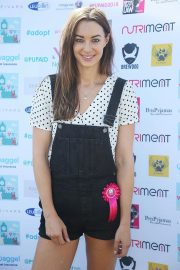 Emily Hartridge at Pup Aid Puppy Farm Awareness Day 2018 in London 2018/09/01 2