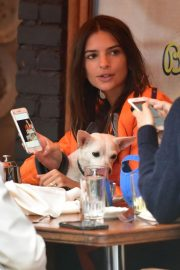 Emily Ratajkowski Out for Lunch with Friend in New York 2018/09/10 7
