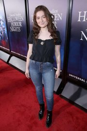 Emma Kenney at Halloween Horror Nights Opening in Los Angeles 2018/09/14 1