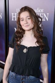 Emma Kenney at Halloween Horror Nights Opening in Los Angeles 2018/09/14 2