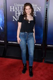Emma Kenney at Halloween Horror Nights Opening in Los Angeles 2018/09/14 4