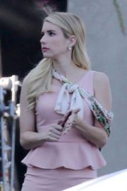 Emma Roberts on the Set of American Horror Story in Los Angeles 2018/09/12 5