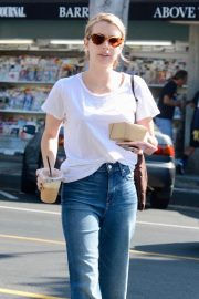 Emma Roberts Out for Morning Coffee in Los Angeles 2018/09/07 4