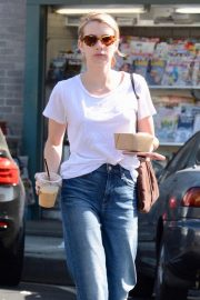 Emma Roberts Out for Morning Coffee in Los Angeles 2018/09/07 10