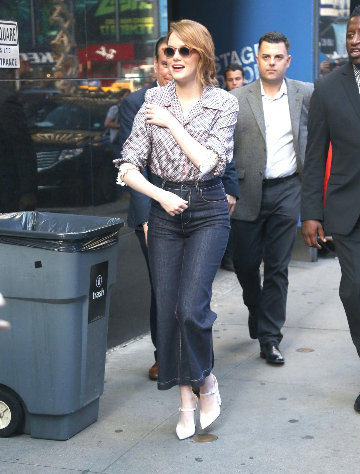 Emma Stone Arrives at Good Morning America in New York 2018/09/19 1
