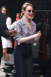Emma Stone Arrives at Good Morning America in New York 2018/09/19 6