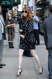 Emma Stone Arrives at Late Show With Stephen Colbert in New York 2018/09/19 1