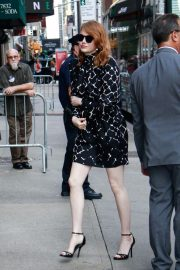 Emma Stone Arrives at Late Show With Stephen Colbert in New York 2018/09/19 2